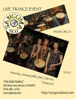 Sangoma Beat Live Drumming Event