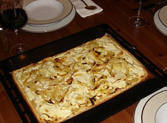 Onion Pie Flammenkuchen